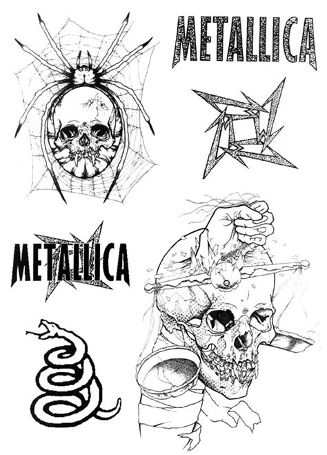 band rock music free tattoo ideas designs thousands images