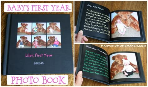 baby picture book ideas baby s year photo book a special birthday
