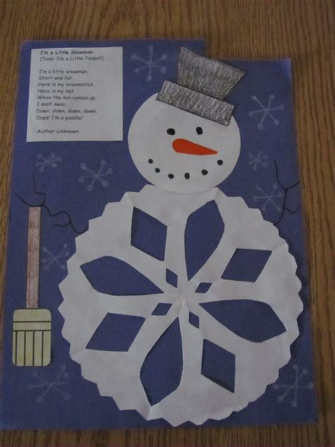 winter craft for lil country librarian winter ideas part 1