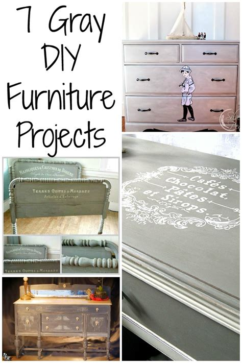 furniture projects 7 painted gray furniture diy projects the graphics
