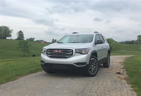 Gmc Acadia Review by 2017 Gmc Acadia Denali Review Release Date Limited Specs