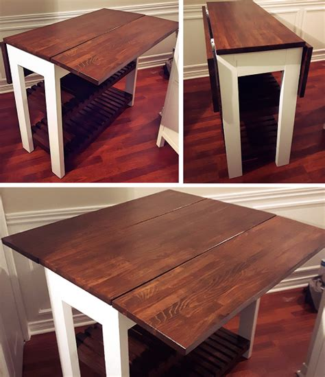drop leaf kitchen island table white drop leaf kitchen island diy projects