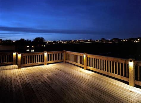 landscape deck lighting deck lighting ideas