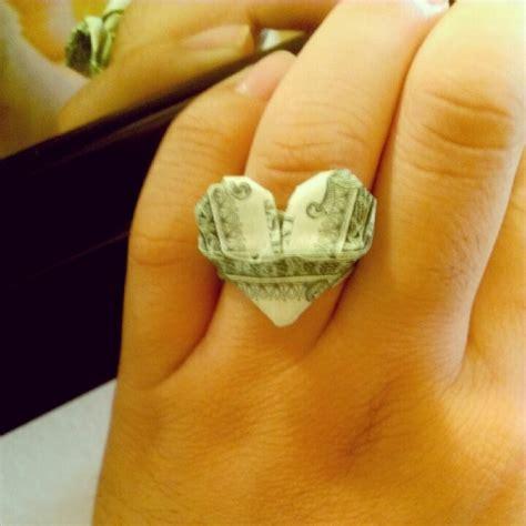 dollar ring origami dollar origami ring money designs