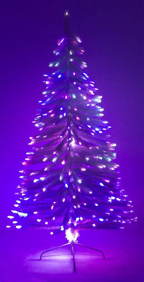 white fiber optic artificial tree 6 ft white artificial tree w fiber