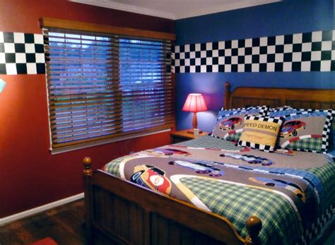 Car Themed Wallpaper Borders by Race Car Bedroom The Paint And Checkered Border