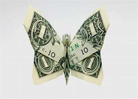 butterfly dollar bill origami money origami 20 pics curious photos pictures