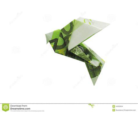 origami money bird birds from 100 banknotes stock photo image 44332954