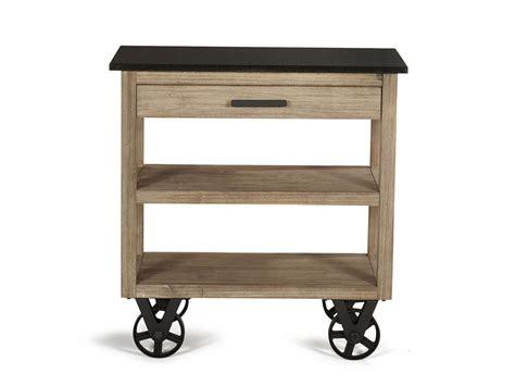 desserte de cuisine sur roulettes design quot usine quot et bois massif meuble et d 233 coration marseille