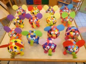 paper mache crafts for preschoolers elmer papier mach 233 luchtballon elmer