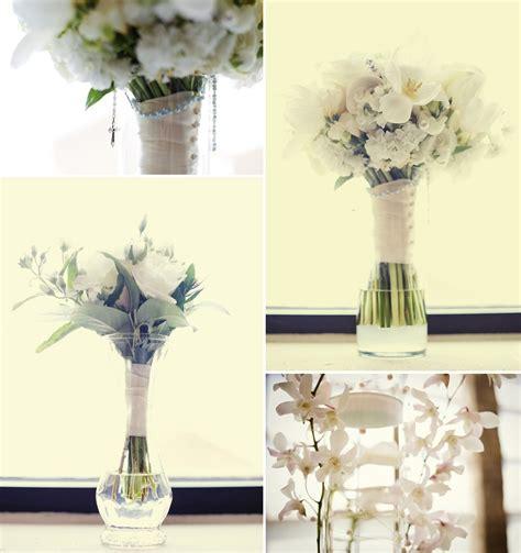 simple wedding reception centerpieces simple wedding flowers ivory bridal bouquet