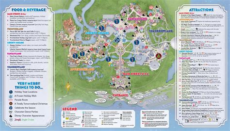 mickey s merry 2014 mickey s merry 2014 guide map photo