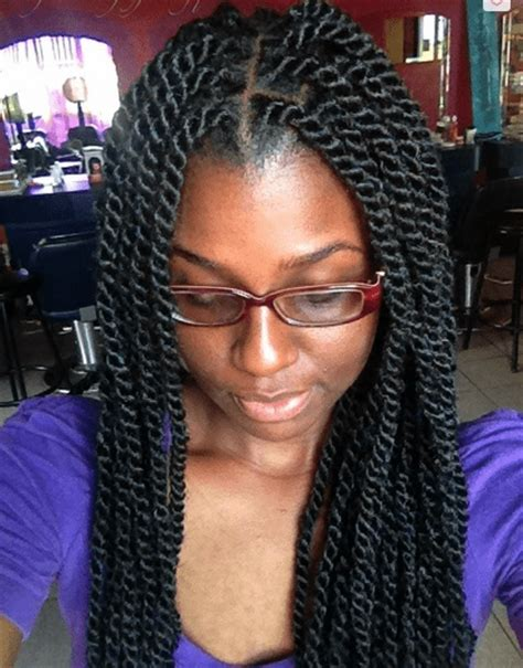 marley twists with marley braids twists hairstyles trends in