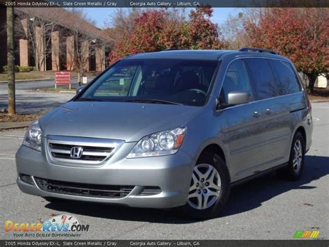 2005 Honda Odyssey Ex L by 2005 Honda Odyssey Ex L Slate Green Metallic Gray Photo