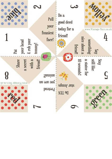 fortune teller paper craft free paper fortune teller printable templates fortune
