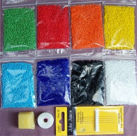 loom beading supplies superior american indian loom supplies 80 grams ebay