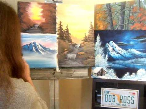bob ross guest painter bob ross style painting by jester as seen on the
