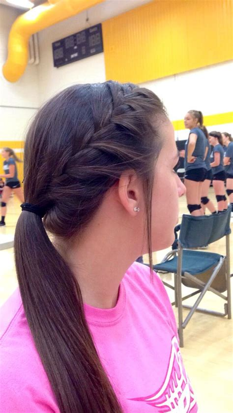 how to style hair for track and field best 25 volleyball hairstyles ideas on pinterest cute