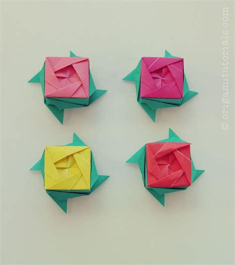 origami ros origami box ayako kawate origami tutorials