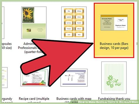 make business cards microsoft word how to make business cards in microsoft word with pictures