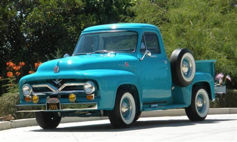 1955 Ford Truck by 1955 Ford F 100 Truck Resto Mod