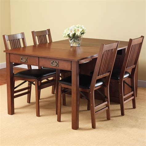 expanding dining room tables the expanding dining table hutch hammacher schlemmer