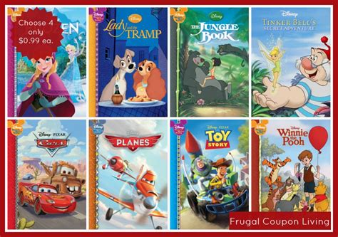 disney picture books 4 hardcover disney storybooks only 0 99 each free