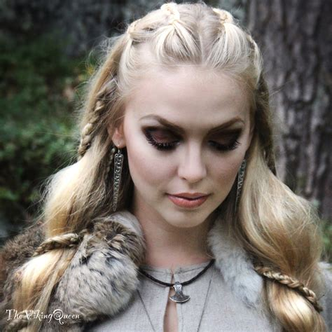 vikings hairstyles customes about viking hairstyles vikings and makeup