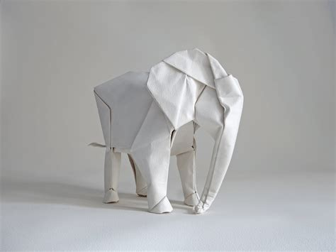 origami elephant for sized elephant origami by sipho mabona