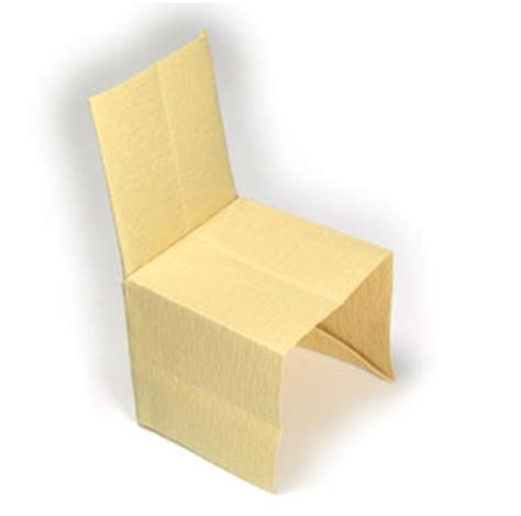 how to make an origami chair how to make a regular origami chair page 1