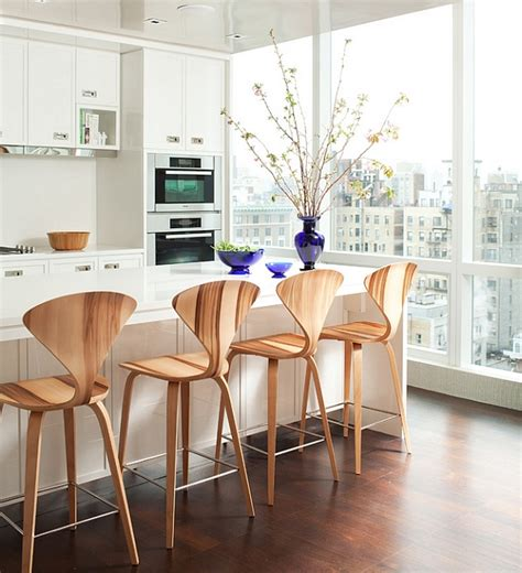 designer kitchen stools 10 trendy bar and counter stools to complete your modern