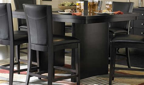Broyhill Dining Room Sets homelegance daisy round glass top counter height dining