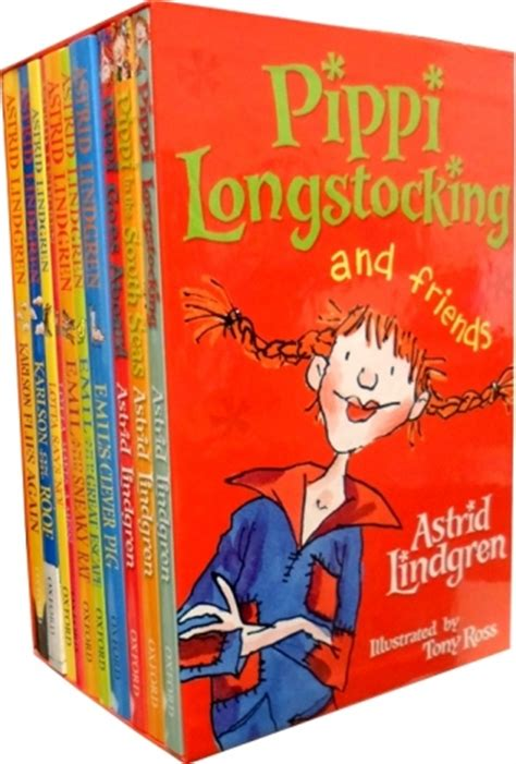 pippi longstocking picture book pippi longstocking and friends collection astrid lindgren