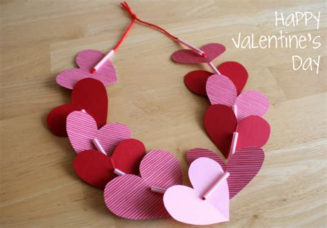 crafts for valentines day preschool crafts for s day necklace
