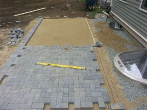 best pavers for patio best sand for patio pavers home ideas