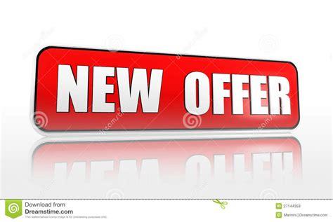 new one new offer banner stock illustration image of commerce