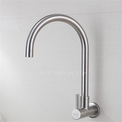designer kitchen faucet designer goose neck stainless steel kitchen faucet cold water