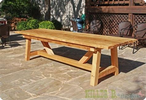 woodwork table designs pdf woodwork outdoor wood table plans diy plans