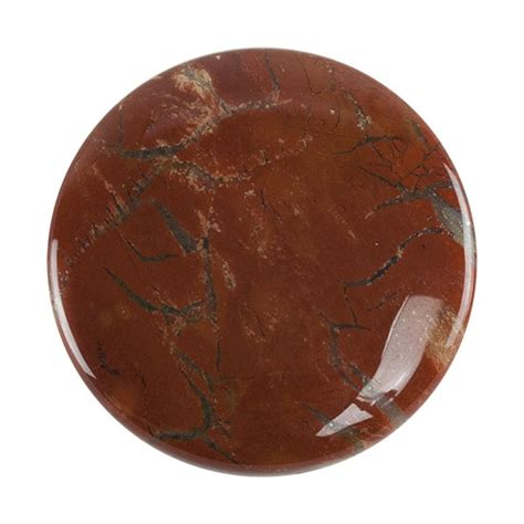 brecciated jasper brecciated jasper gemstone cabochon 35mm pkg 1