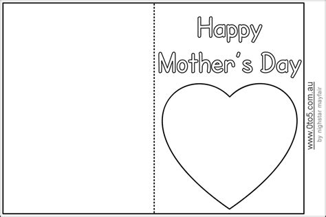 printable mothers day cards for to make mothers day cards templates