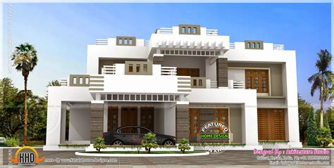 home design modern 2014 5 bhk contemporary style house exterior home kerala plans