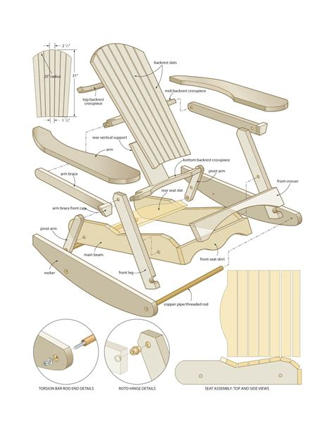 woodworking rocking chair pdf diy woodworking projects rocking chair