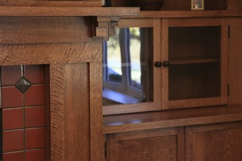 craftsman woodworking custom woodworking fireplace mantel with bookcases and