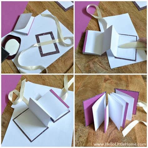 how to make picture books diy s day accordion book