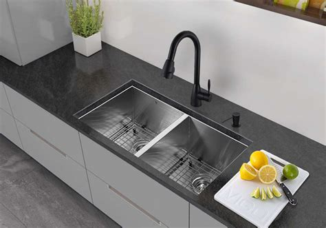 bowl kitchen sinks types of kitchen sinks read this before you buy