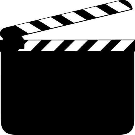 Blackboard Wall Stickers movie clapper logo clipart best