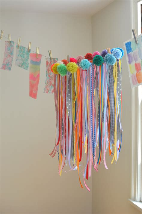 ribbon craft projects make your own ribbon chandelier crafts