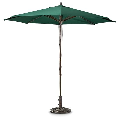 market patio umbrella castlecreek 9 market patio umbrella 234561 patio