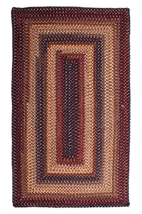 braided wool area rugs cambridge wool braided rug cottage home 174