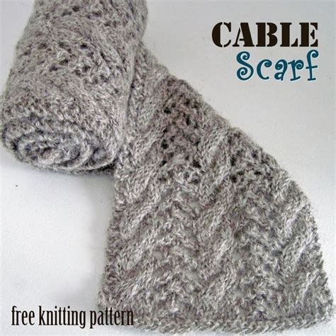 how to knit a cable scarf cable scarf free knitting pattern c o w l s and s c a r